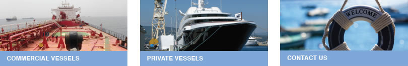 Link to commercial vessels, consultancy and private vessels